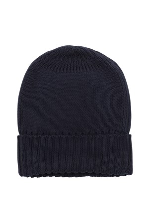 Beanie Hat in Navy