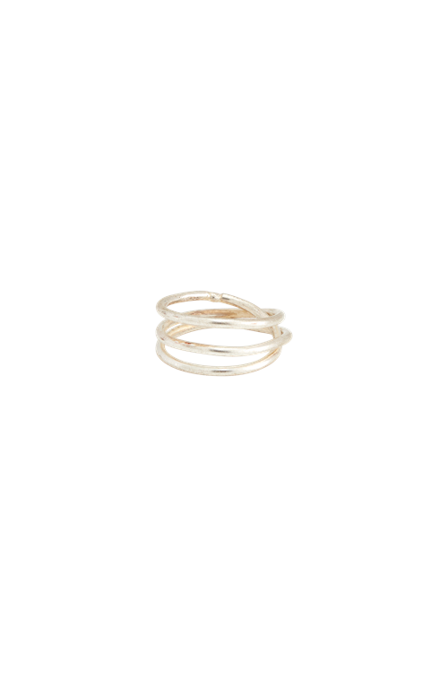 Coil Ring in Silver