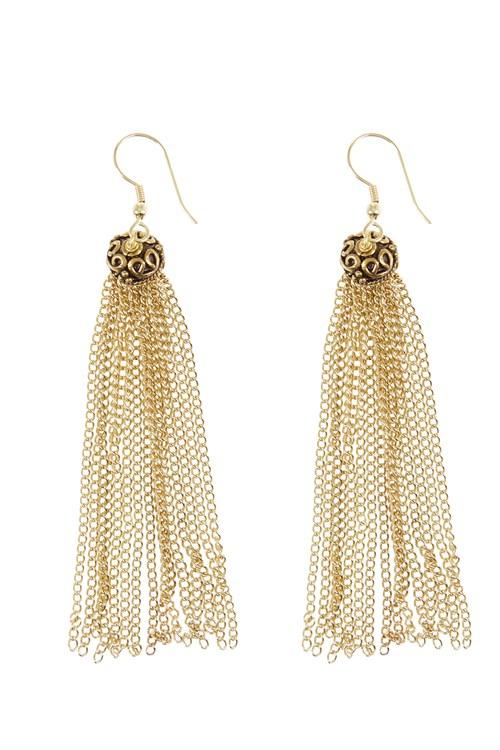 Fine Chain Earrings from People Tree