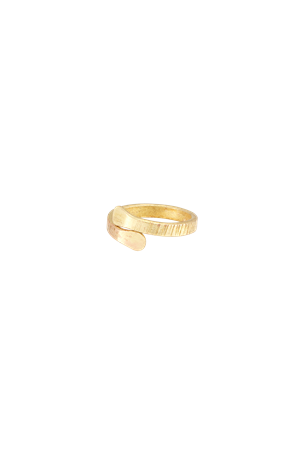 Hug Ring in Brass