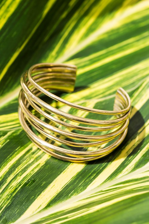 Layered Strand Cuff from People Tree