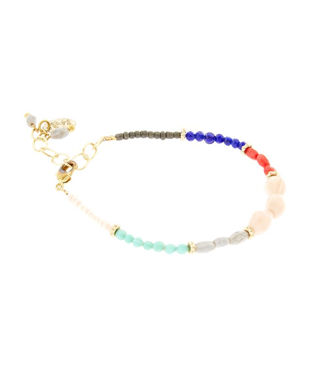Mixed Beads Bracelet in Multiple Colours from People Tree