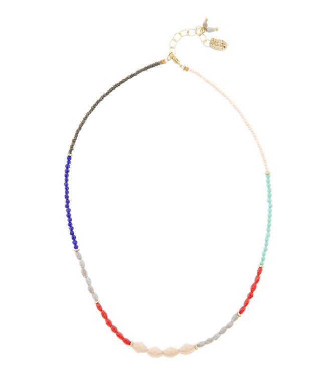 Mixed Beads Necklace in Multiple Colours from People Tree