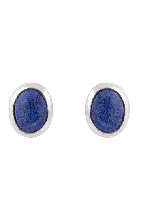 Oval Stud Earrings