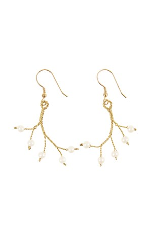 Pearl Branch Earrings