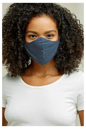 Protective Face Mask In Navy