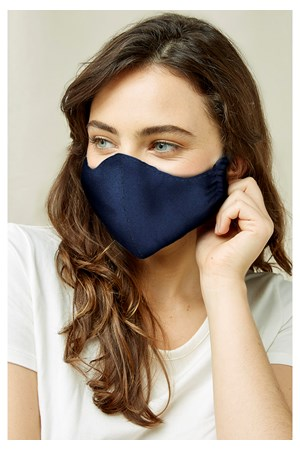 Protective Mask Plain Navy