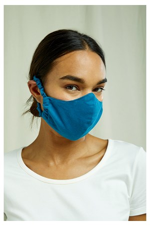 Protective Mask Plain Turquoise