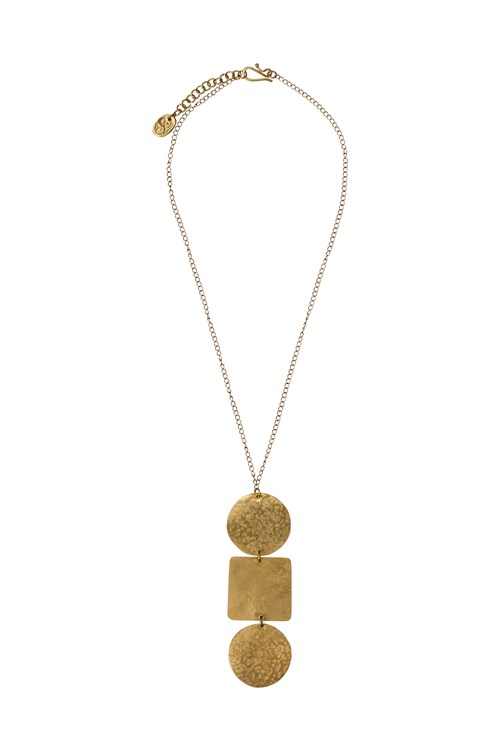 Shapes Pendant Necklace from People Tree