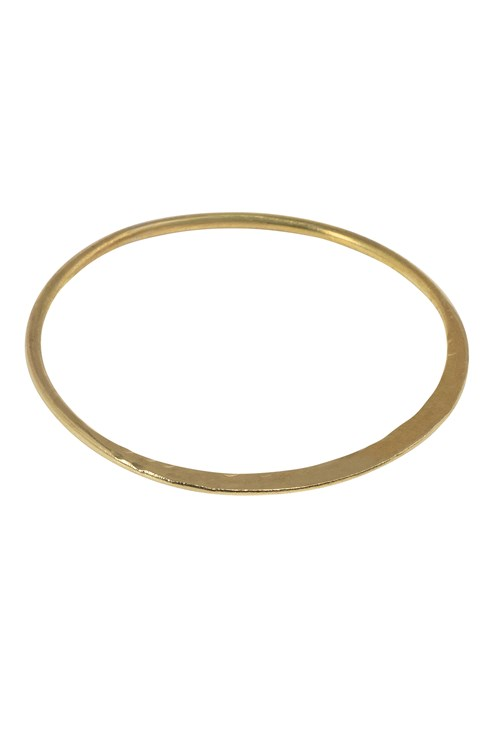 Sophie Bangle in Brass from People Tree