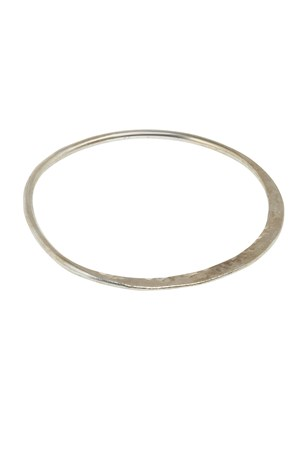 Sophie Bangle in Silver