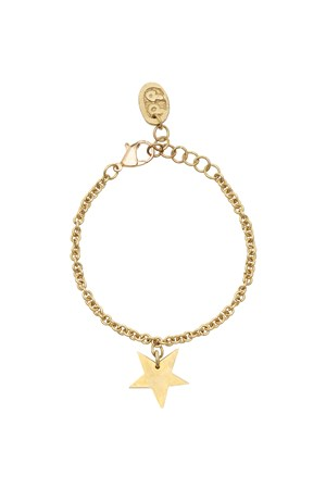 Star Bracelet in Brass