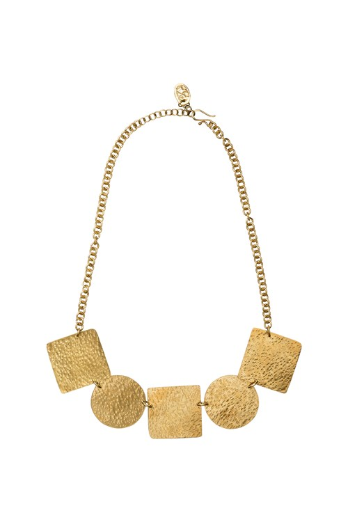Statement Shapes  Necklace