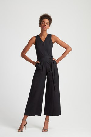 Adalee Jumpsuit in Black
