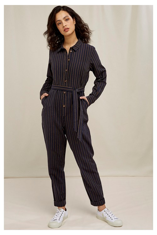 Anisa Striped Jumpsuit