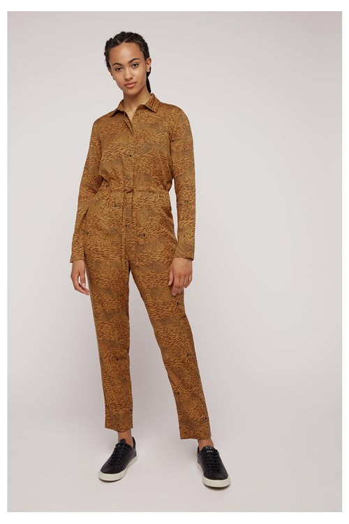 BBC Earth Cheetah Print Jumpsuit from People Tree