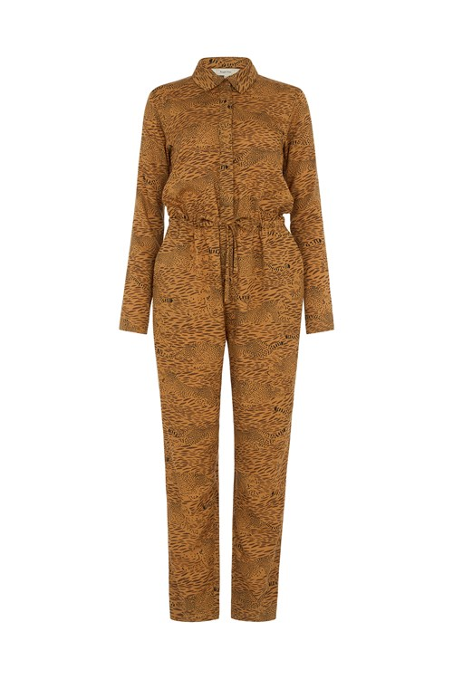 BBC Earth Cheetah Print Jumpsuit
