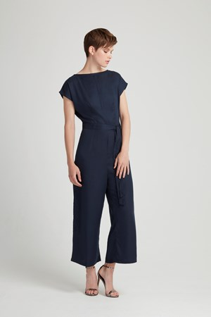 Darla Jumpsuit in Navy