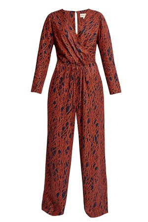 Drew Abstract Jumpsuit