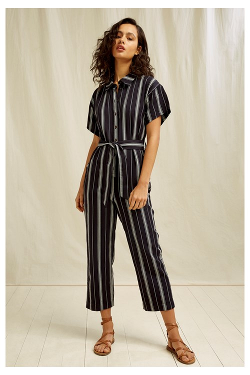 Jessalyn Stripe Jumpsuit