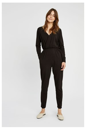 Odette Jumpsuit in Black