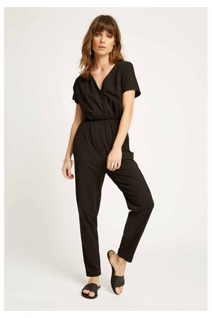 Oliana Jumpsuit in Black