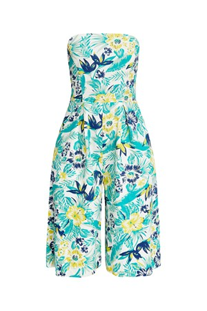 Tanya Tropical Jumpsuit