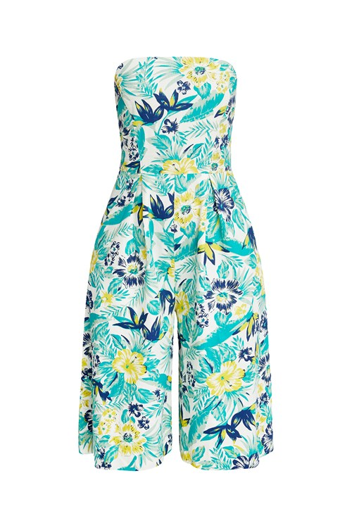 Tanya Tropical Jumpsuit from People Tree
