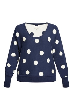 Agnes Dot Jumper in Navy