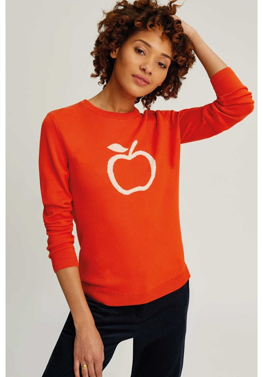 Apple Jumper Orange from People Tree