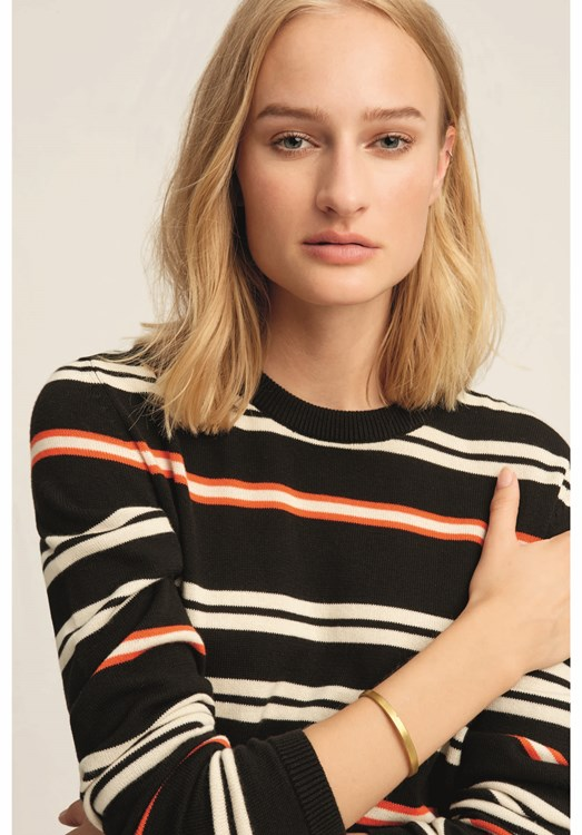 Elise Stripe Jumper