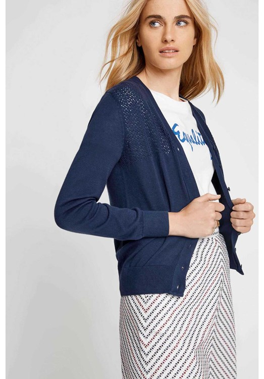 Meredith Cardigan in Navy