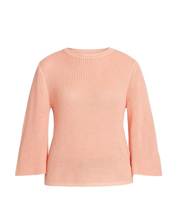 Sinead Rib Jumper in Pink