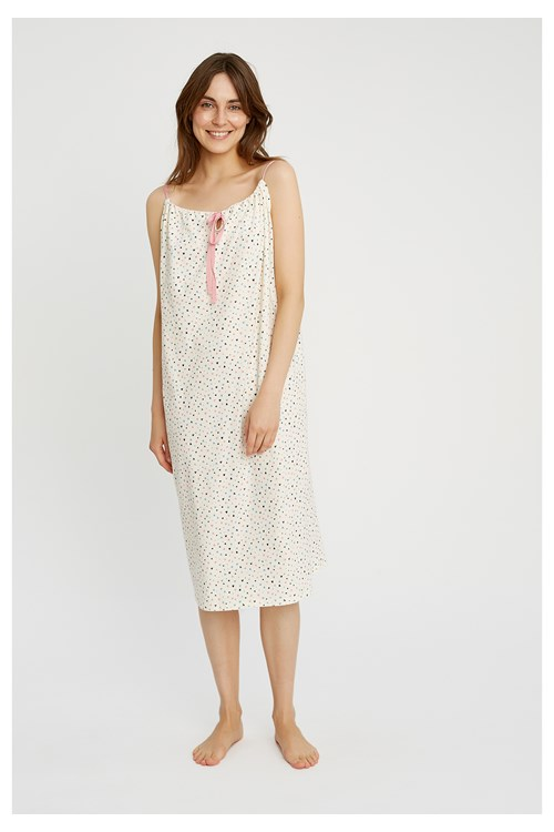 Heart Print Nightdress from People Tree