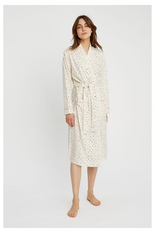 Heart Print Robe from People Tree