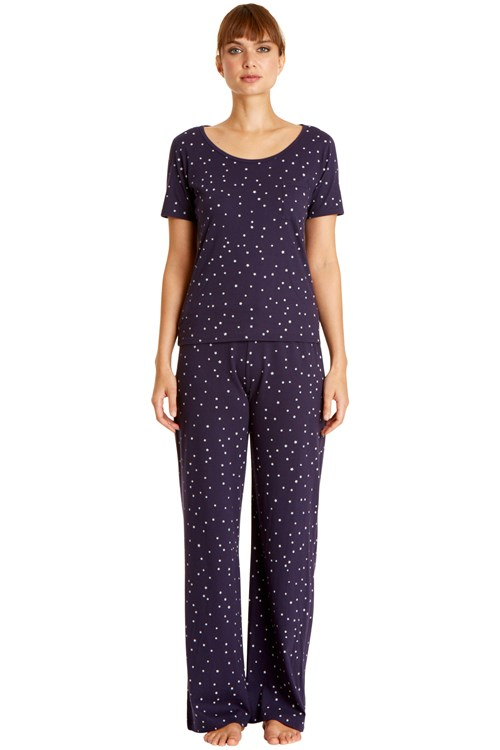 Stars Pyjama Short Sleeve Top