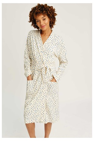 Stars Robe in Cream