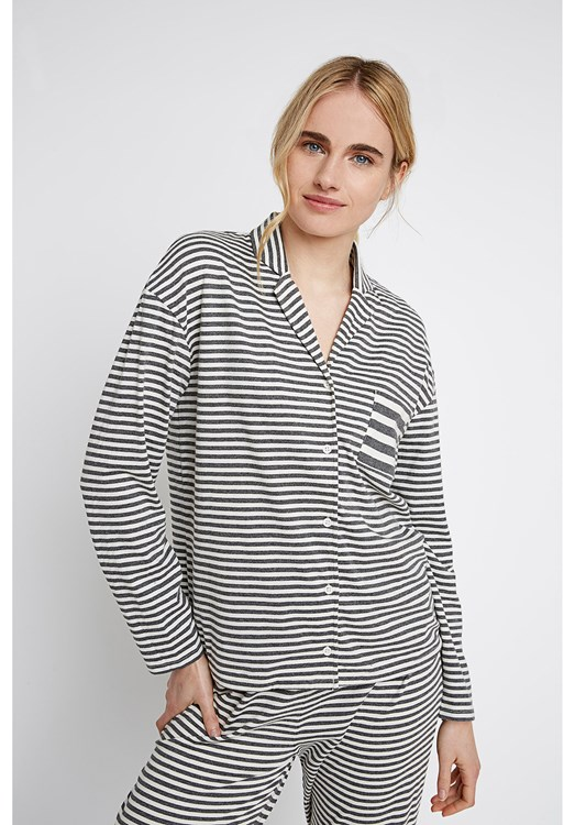 Stripe Grey Pyjama Shirt