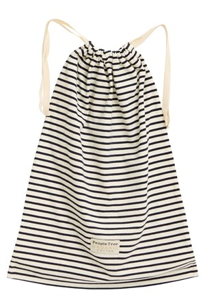 Stripe Nightwear Bag