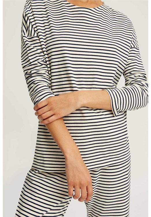 Stripe Pyjama Long Sleeve Top from People Tree