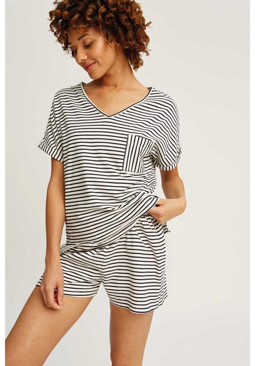 Stripe Pyjama Shorts from People Tree