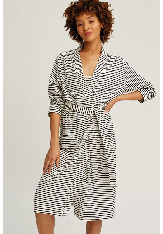 Stripe Robe from People Tree