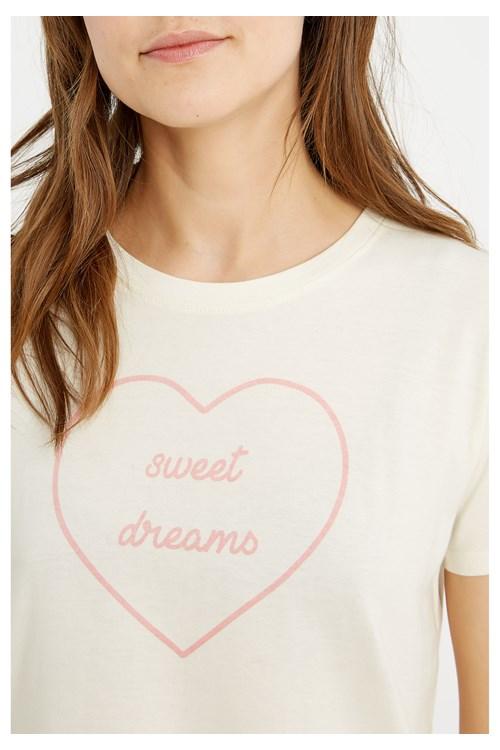 Sweet Dreams Print Tee from People Tree