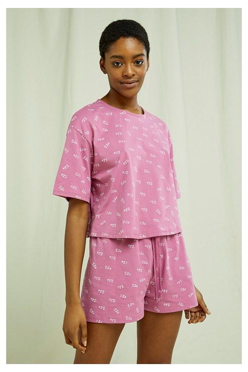 ZZZ's Cropped Pyjama Tee from People Tree