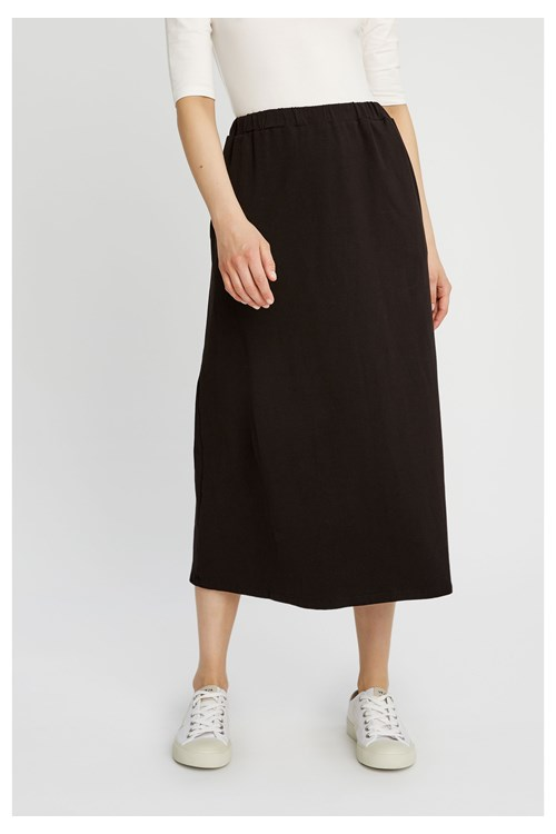 Beatrix Skirt in Black from People Tree