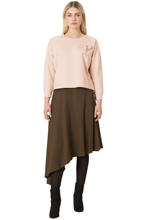 Etta Asymmetric Skirt