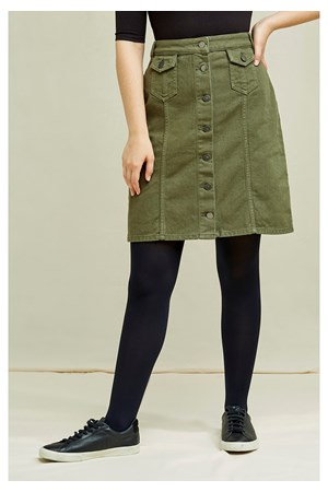 Francine Skirt In Khaki