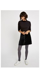 /women/halima-velvet-skirt-in-black