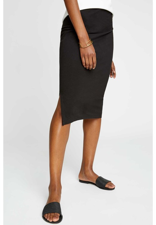 Keira Pencil Skirt Black