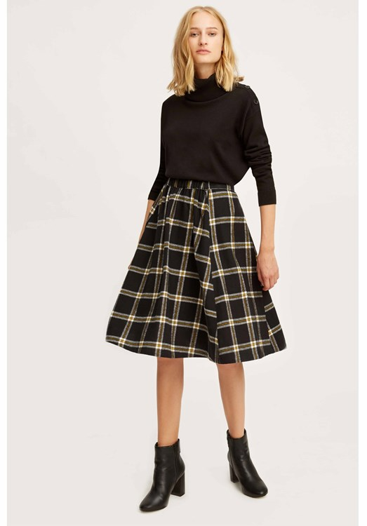 Lani Checked Skirt from People Tree
